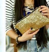 handbag low price - Lowest price Fashion Dazzling Sequins Handbag Party Evening Bag Wallet Purse Glitter Spangle Day Clutches Bags Makeup Bags Colours