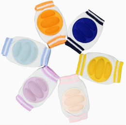 Wholesale 3 pairs Toddler Crawling Knees Protector Baby Kids Elbow Pads