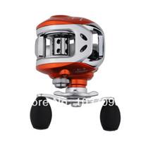 Lure Reel Bait Casting Jman 8 +1BB Ball Bearing High Speed 6.3:1 12lb 120yd Baitcasting Spin Fishing Reels Right Handed