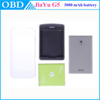 Wholesale Original jiayu g5 case special metal back cover for mAh battery dock charger plastic case for mAh jiayu g5 phone