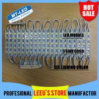 Wholesale 100PCS LED module light lamp SMD IP waterproof LED modules for sign letters LED back light led W lm DC V