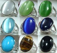 Cheap Three Stone Rings stone ring Best   tiger eye