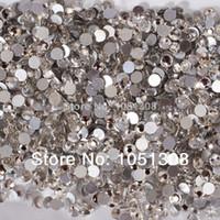 Wholesale SS20 mm Size Swarovski Crystal Hot Fix pack Nail Art Decoration Ornamnt Beauty Fashion