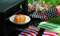 Wholesale Silicone Oven Gloves Barbecue Heat Proof Protector Kitchen cooking tools Oven Mitts Bakeware