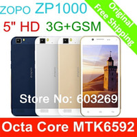 Octa Core Android Lenovo ZOPO ZP1000 MTK6592 Octa Core Smart Phone 5 Inch IPS 1GB 16GB 1.7GHZ 14MP Android Phone Dual Sim ZOPO ZP1000 GPS 3G Smartphone