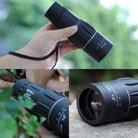 Cheap Super Clear 16x52 Dual Focus Telescope Optics Zoom Monocular Scalable Telescopic