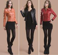 2014 New Women Jacket 100% Genuine Leather jackets for women sheepskin