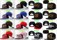 Cheap Wholesale - Free Ship TMT Snapback Hat Adjustable snapback hats Caps Top Design Newest sports caps men High Quality Can Mix Order