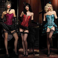 Leggings Skinny,Slim Women Sexy Gothic full steel boned overbust corset waist training corsets dress corselet women lingerie plus size Bustiers & Corsets