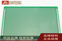 Wholesale Sided HASL CM MM universal board breadboard full glass green oil thickness MM