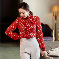Women 100% Linen Appliques New arrival Korea Women Chiffon loose Shirt Good quality Cute Fashion print Nolvety Lady Tops Full Sleeve C114