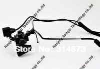 Yes SONGZI 2.5 Free shipping Half Metal frame Ultra-Light 2.5X Binocular Dental Loupes Surgical Loupes with High Brightness Headlight