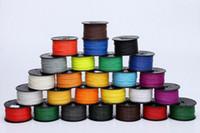 Wholesale 3d printer filaments PLA ABS mm mm kg plastic d printer extruder Rubber Consumables Material MakerBot RepRap UP Mendel