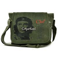 Wholesale New Arrival casual canvas bag women fashion Guevara Pattern shoulder handbag travel bag outdoor canvas bag b11