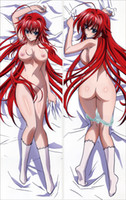 Wholesale High School DxD Rias Gremory Issei Hyodo body pillow case two sides printed body Hugging body PillowCase