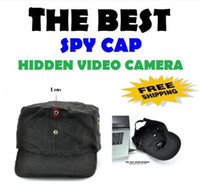 Spy Camera 4G  New 4GB Video DV Mini Spy Hat Camera With Remote Camcorder Recorder Cap Hidden Pinhole Digital DVR Cam Video Recorder Camcorder A V HDDV