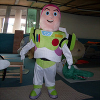 Unisex toy story clothing - New buzz lightyear mascot costume adult size christmas party clothing toy story fancy dress