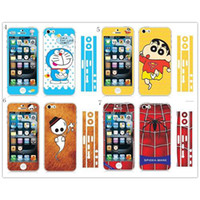 Wholesale Fashion Cartoon Illuminated Cell Phone Screen Protector for Apple IPhone S Full Body Film in Factory Price IP04