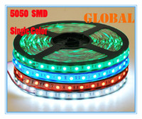 blue ribbon - 5 Meter LED strip light ribbon leds M SMD non waterproof DC V White Warm White Red Green Blue Yellow Christmas Decoration For Car
