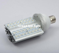 DC SMD 3528 Yes Wholesale - HOT 36W E40 LED Street Light Warm or pure White Outdoor Garden Park led Road light Lamp 110V 240V free shipping