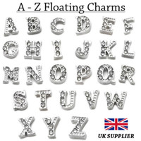 Cheap Charms A - Z Crystal Floating Ch Best Charm(s) Silver Jewelry & Watches