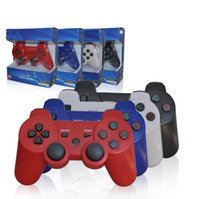 Wholesale 10PCS high quality original Wireless Bluetooth SixAxis Game pad Controller Dual Controller Joystick Game Joypad For PS3 PS III