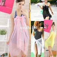 Wholesale 2014 new fashion Summer Sexy Swimwear Wrap Sarong Cover Up Beach Dress for Women Bikini Scarf