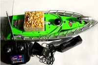 bait boat - mini RC bait boat RC FISHING boat adventure boat meters remote fish finder factory Green Red colors
