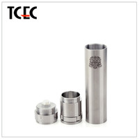 Cheap Chi You Stainless Steel Battery Tube Mechanical Chiyou Mod E Cig Fit for 18650 18350 18500 DHL free