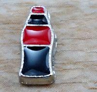 Charms   100pcs Enamel Coke Bottle Floating Charm for Glass Living Memory Locket