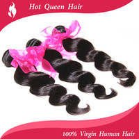 Wholesale human hair weaves queen hair products brazilian virgin hair wavy bundles inch brazilian virgin hair body wave fast
