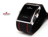 Wholesale new design Best Gift Men s Luxury Date Digital Sport Led Watch With Red Light
