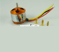 Wholesale Brushless DC Electric Motor A2208 KV1100 for RC Airplanes Boat Vehicle Model Glider Plane Kit F205407