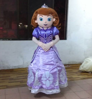 Mascot Costumes Unisex Costum Made WR210 adult sofia the first mascot costume princess sofia costume