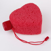 Wholesale Red heart perfume Bath ball bath bombs suit for petal of rose for bath
