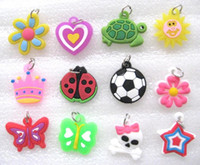 Wholesale Set of x Pretty Dolls Charms For Loom Bracelet Rubber Bands Craft DIY