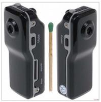 Wholesale DV MD80 Mini Spy Camera Cam Sports DVR Sport Video DC x480 Helmet Hidden Video Digital Camera Action Camcorder Recorder support TF Card