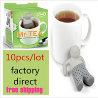 Wholesale factory direct Mr Tea Infuser Mr Tea Infuser Mr Tea Strainers OPP package colors to choose top sale