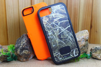 Wholesale iphone s case in Defender Real Tree Realtree Camo Case For Iphone iphone s With Clip Retail Package