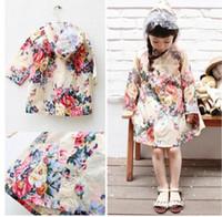 Nylon fashion ponchos for - Sample Order New Rain Gear Children S Raincoats Rainwear Fashion Flowers Kids Girl Rain Jacket Baby Rain Coat Poncho For T L30806