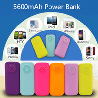 Universal Chargers Universal For US DHL Free Shipping Colorful 5200MAh Portable Mobile Phone Power Bank Emergency External Battery USB Charger for iPhone 5 5S 4S 4 Galaxy S3 S4