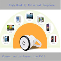 For Apple iPhone Bluetooth Headset  Wireless Bluetooth Mini Earphone YE-106S V3.0 Stereo Music and Phone Call Headphone for iPhone Samsung Bluetooth Headset High Quality