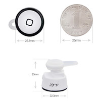 For Apple iPhone Bluetooth Headset  High Quality Wireless Bluetooth Mini Earphone YE-106S V3.0 Stereo Music and Phone Call Remote Control for iPhone Samsung Bluetooth Headset