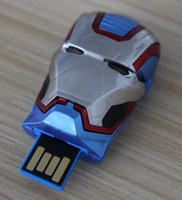 USB 2.0 america supplier - DHL GB GB GB CAPTAIN AMERICA USB Flash Drive Memory Stick With LED EYE SHENZHEN supplier goodmemory metal case packaging