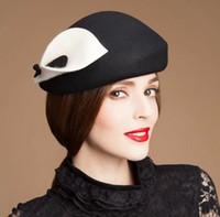 Wholesale Woolen hat new winter cashmere hat lady hat