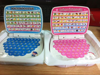 Unisex baby learning table - English Russian language educational learning machine tablet computer Table for kids child as gift toy and tracking number
