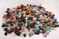 Wholesale Jewelry Natural gemstone Stone mixed Pendants Loose Beads Fit Bracelets and Necklace Charms DIY B03