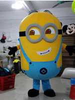 Wholesale New product Despicable Me Minion Cartoon Mascot Costume Adult Cartoon Character Costumes mascot costume