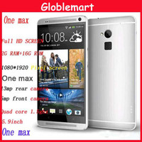 Wholesale 6582 HDC One Max inch IPS HD Speed MTK6582 Quad Core Smart Mobile Phone GB Ram GB Rom Android Android samrtphone DHL free