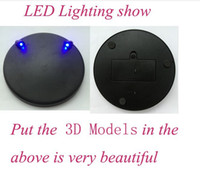 base stock model - Led lighting Base show for D jigsaw puzzle model d laser cut model IN STOCK